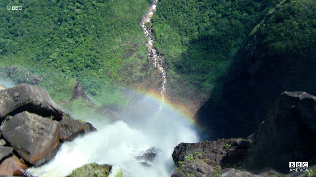 Angel Falls, located in VEnezuela, is the world's highest, uninterrupted waterfall.