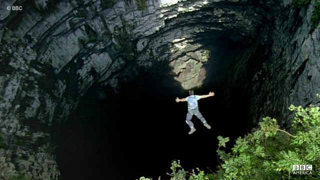 The Cave of Swallows is located in the Municipality of Aquismón, San Luis Potosí, Mexico.