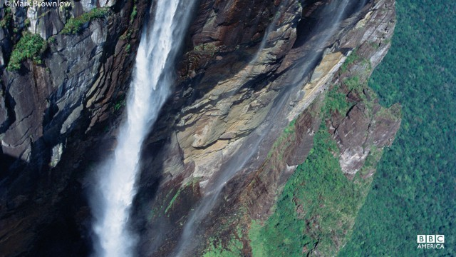 Angel Falls is the world's highest waterfall.