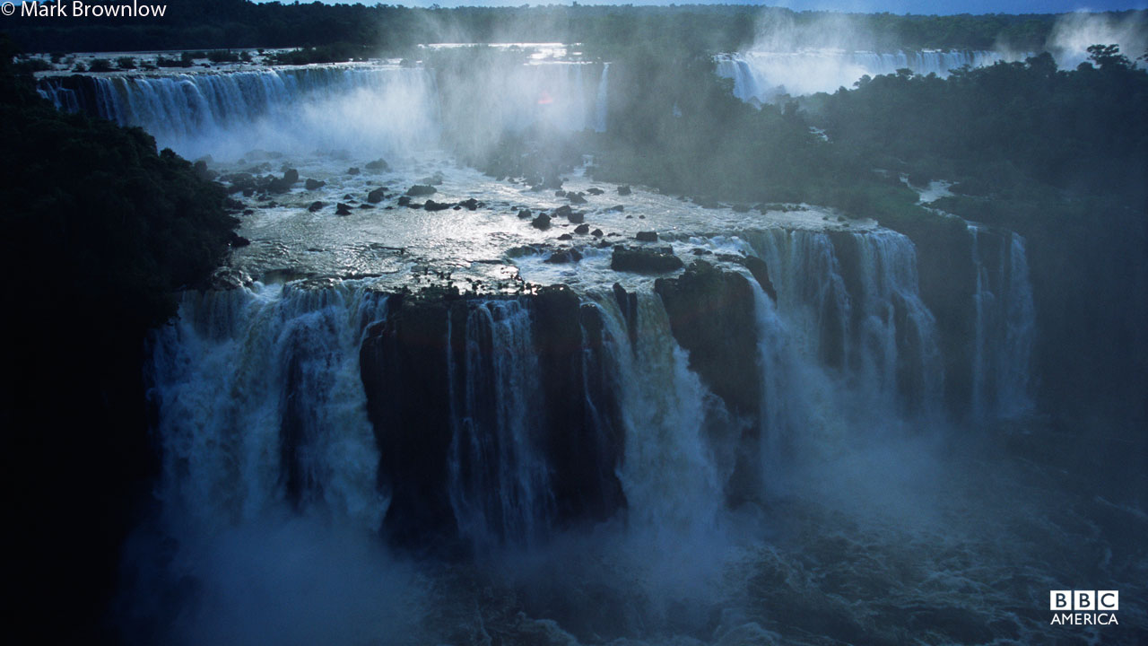 The Iguazu Falls in Argentina are the world's widest continuous waterfall.