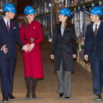 "Kate donned yet another style of head gear when she and William visited Denmark, spending some time with their Danish counterparts, Crown Prince Frederik and Crown Princess Mary. Here, the two couples are seen visiting a UNICEF center. Observers pointed out that Kate and Mary look strikingly similar. Others also looked at the red dress that Kate wore and speculated that it was exactly the type of dress that would hide any signs of a pregnancy. They also seized on the fact that the Duchess had declined to eat peanut as further ""evidence"" that Kate was expecting. Such rumors and speculation dogged Kate for much of the year. No doubt they'll continue – and, at some point, will likely prove to be correct. (Arthur Edwards, The Sun/AP Images)"