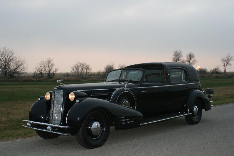 1934 Cadillac V16 Town Car - Sent by Dave M