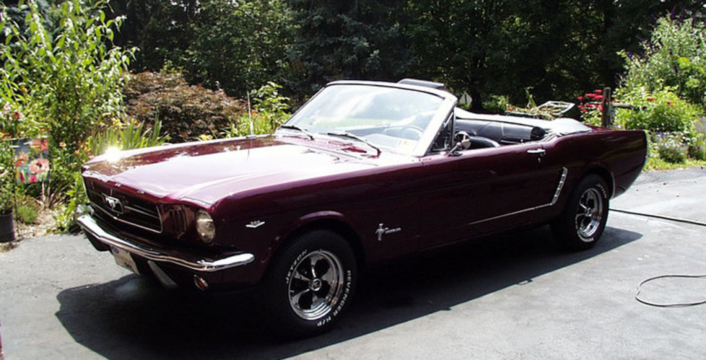 1965 Mustang - Sent by Mark Z