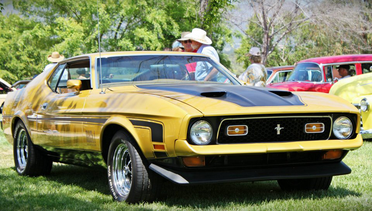 1972 Mustang Mach 1 351C - Sent by James P