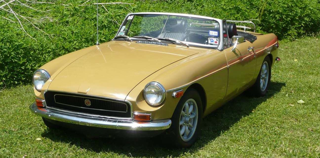 1972 Yellow MGB - Sent by David W