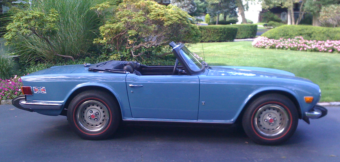 1974 TR6 (aka 'The Duchess') - Sent by Craig S