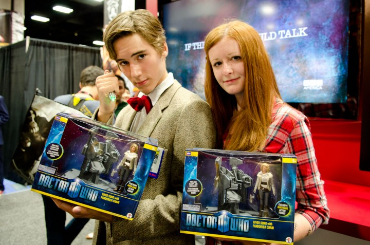 Winner from the 2011 'Doctor Who' Lookalike Contest at Comic-Con.
