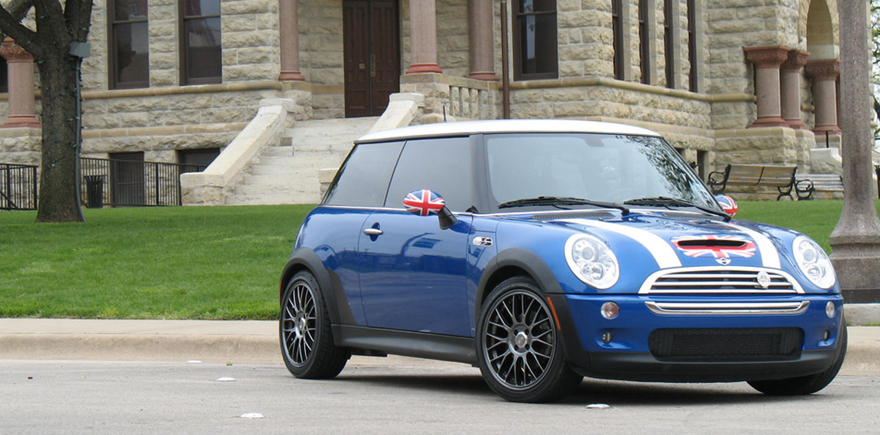 Union Jack Mini Cooper - Sent by Jay W