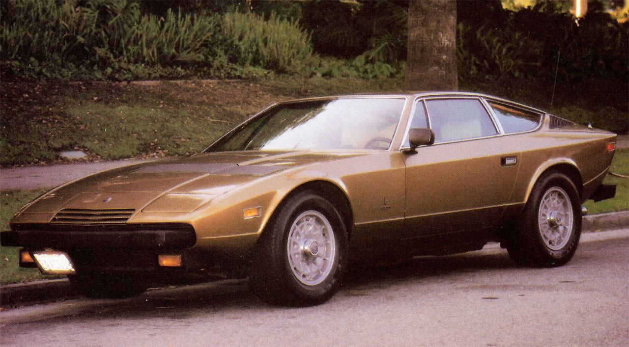 Vintage Maserati Khamsin - Sent by Robert Y