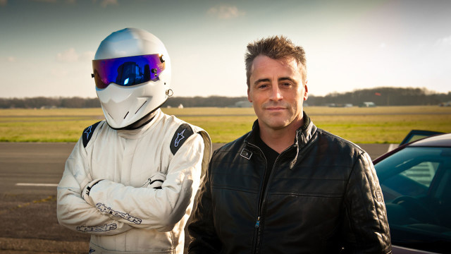 'Friends' star Matt LeBlanc hangs with The Stig after trying out a Reasonably Priced Car
