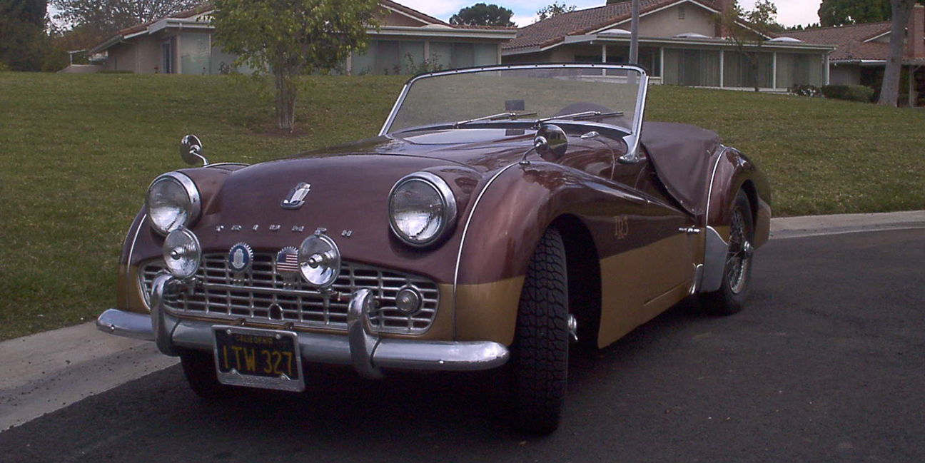 1960 Triumph TR3 - Sent by Doug W