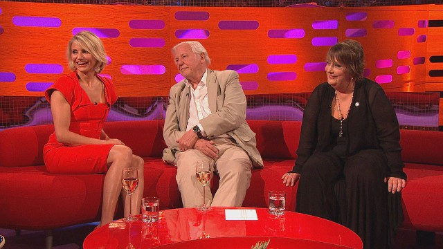 Cameron Diaz, Sir David Attenborough and Kathy Burke join Graham for Episode 5.