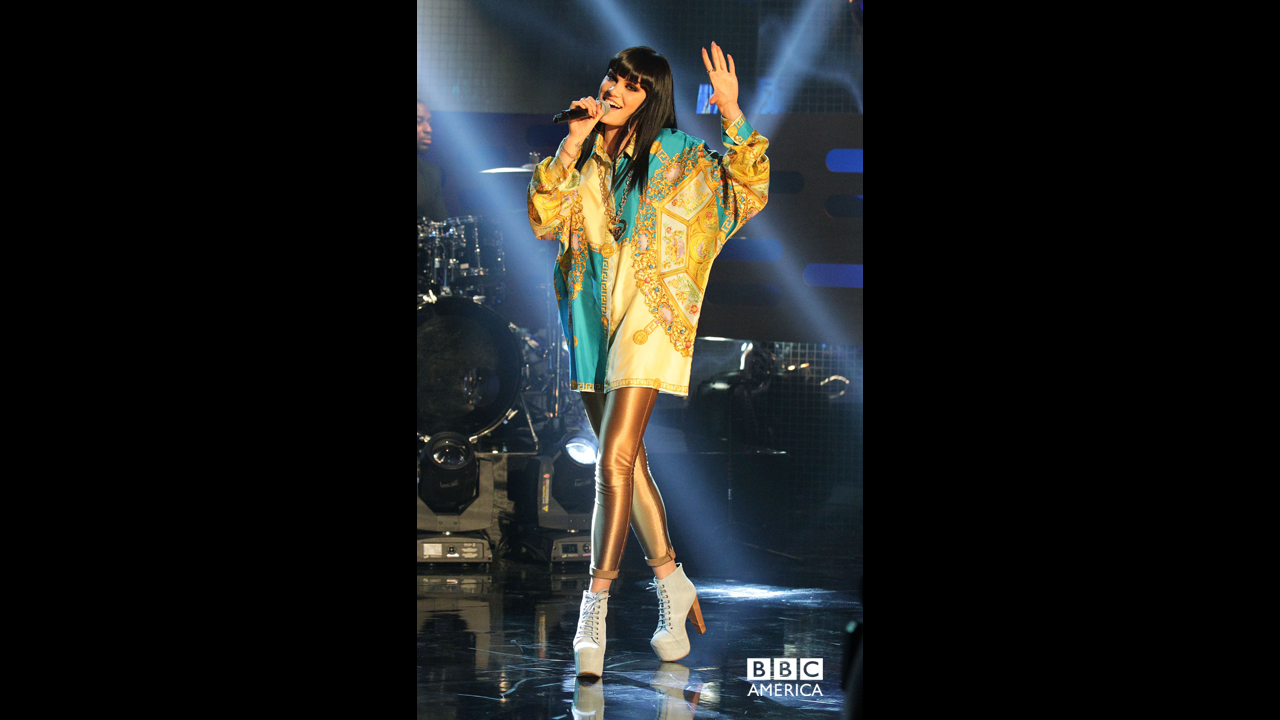 Jessie J hits the stage.