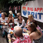 Meanwhile, on the other side of the continent, the New York-based Big Apple Brits held a rooftop barbecue at the Delancey on the city's Lower East Side. (Photo: Martin Roe Photography)