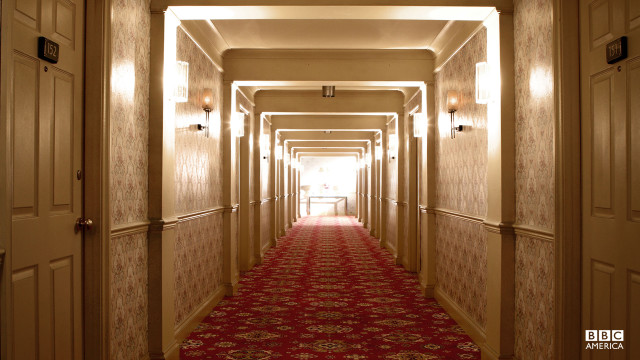 """The corridors twist and stretch. Rooms vanish and pop up somewhere else. It's like the hotel's alive."" – Rita"