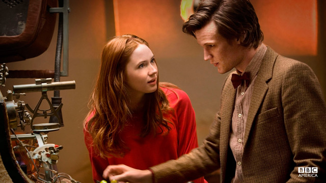 """I was starting to think you were just…like…a mad man with a box."" – Amy Pond (Season 5, Episode 1)"