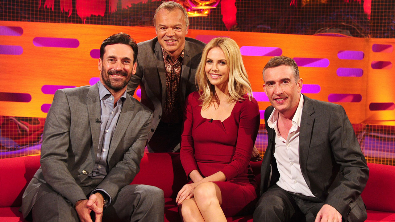 Jon Hamm, Charlize Theron and Steve Coogan join Graham for Episode 6.