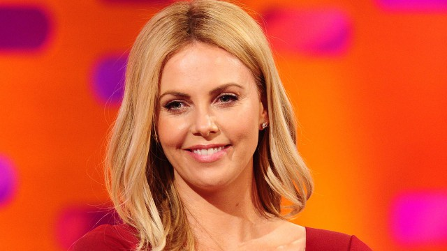 Charlize Theron talks about motherhood.