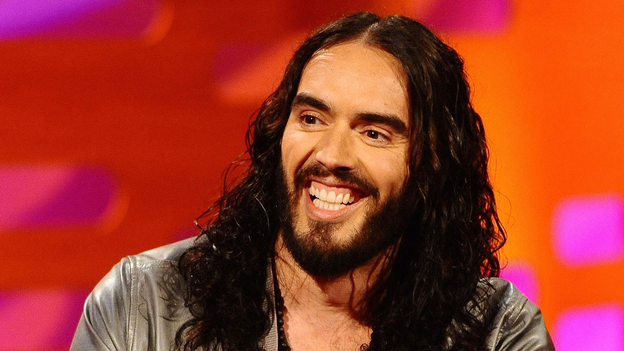 Comedian Russell Brand brings the laughs to 'Graham Norton.'