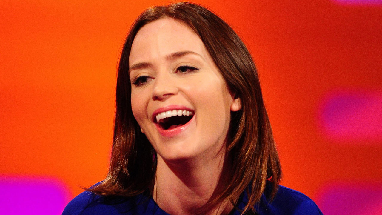 Emily Blunt talks about her new movie 'The Five-Year Engagement.'