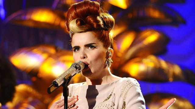 Paloma Faith performs live in the studio.