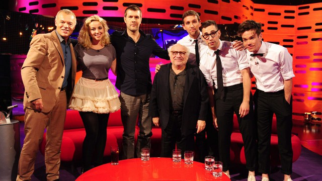 Danny DeVito, Charlotte Church, Rhod Gilbert and fun. join Graham for Episode 10.