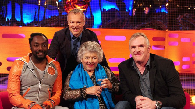 Will.i.am, Miriam Margolyes and Greg Davies join Graham for Episode 9.