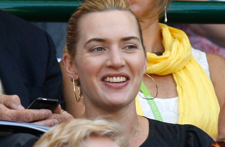 Of course Kate Winslet has been to Wimbledon! Her surname contains TWO tennisy syllables (although the first one could be applied to any sporting endeavour). (Photo: AP)