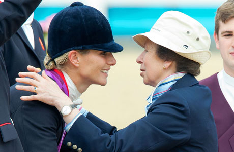 Photos British Royal Zara Phillips Wins Olympic Silver