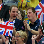 The Duke of Cambridge and Prince Harry witnessed the team's historic trip to the podium for the first time since Team GB's last medal in this event, which was in the Stockholm Games in 1912. (Press Association via AP Images)