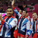Team GB's medal did not come without controversy: initially it appeared that Great Britain had taken the silver medal, but Japan's appeal to get a low score increased pushed Team GB back to third. (AP Photo/Julie Jacobson)