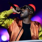 Tinie Tempah was the sole representative for British hip-hop this evening.(Press Association via AP Images)