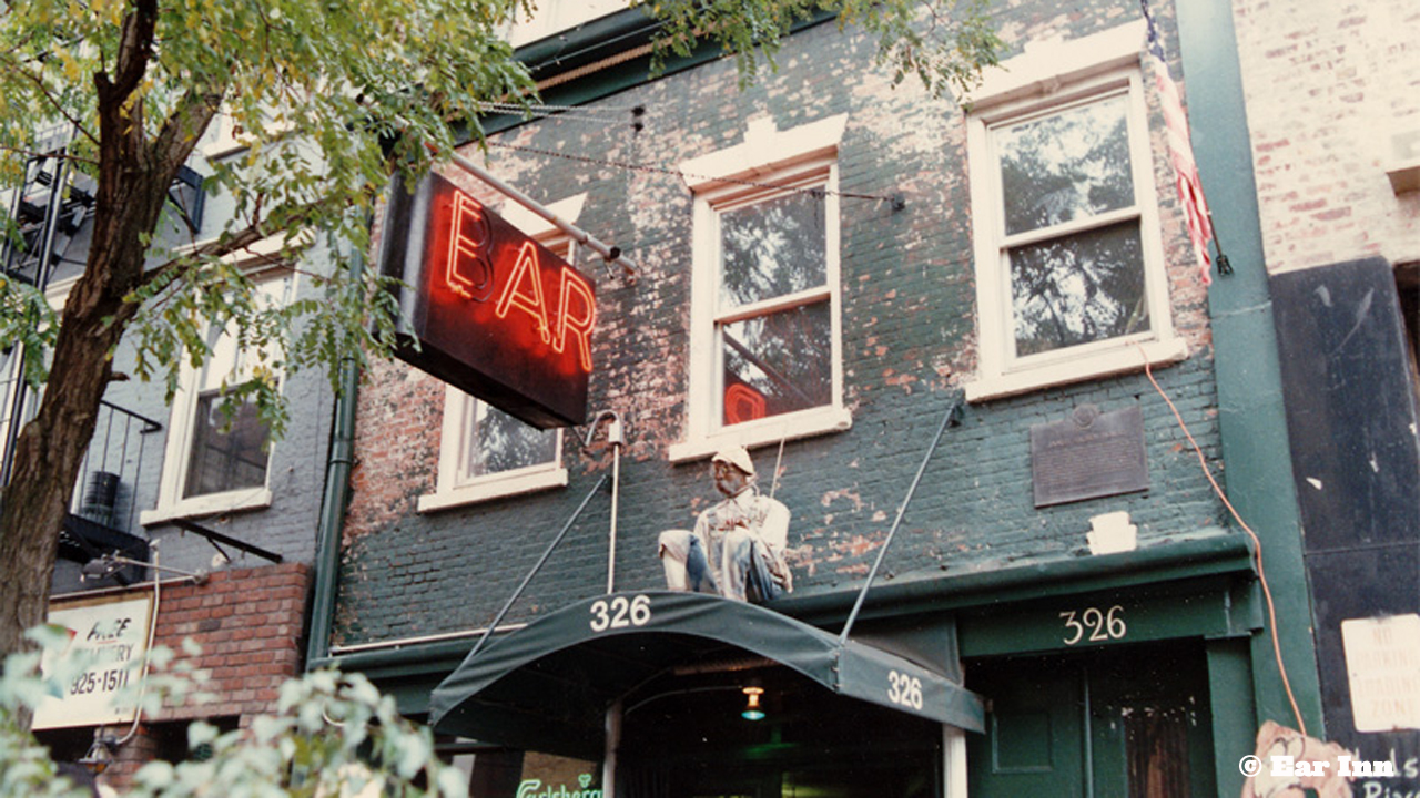 "Ear Inn Originally a traditional inn, the Ear Inn started serving booze in the 1890s. The old eclectic vibe draws many regulars to its Spring Street location. The bar got its unique name when new owners purchased and reopened the space in 1977. Because of historical landmark restrictions, the signage couldn't be changed. The new owners found a loophole, painting over the 'B' of the word ""Bar"" in the signage to make an 'E,' and the Ear Inn was born."