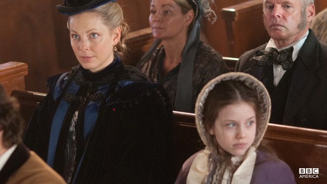Annie isn't a fan of Sunday church, and tells Elizabeth she'd rather live with Eva in Five Points.