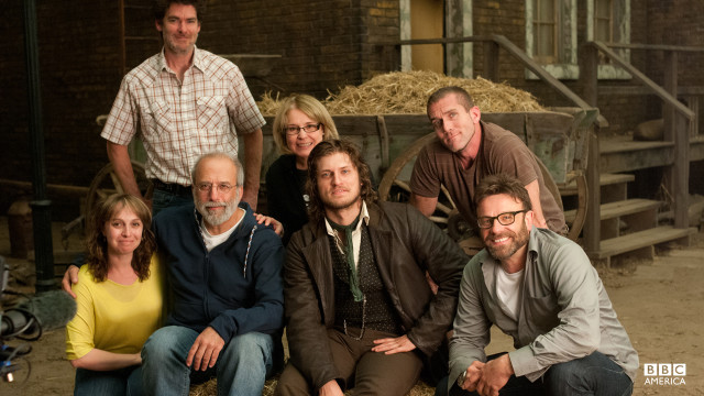 Just some of the geniuses behind the scenes of Copper!