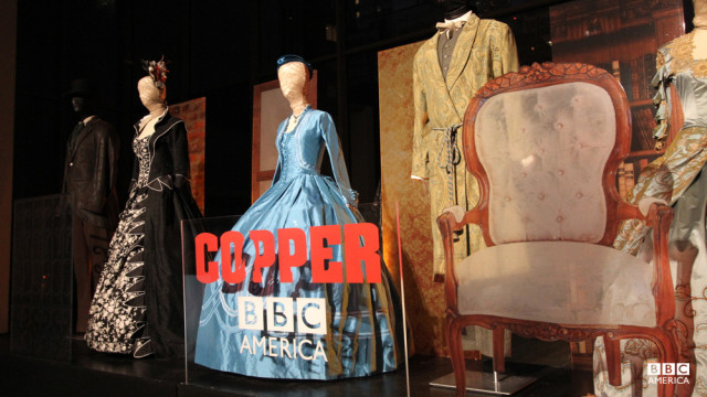 "A look at the gorgeous costuming work from ""Copper"" designer Delphine White."