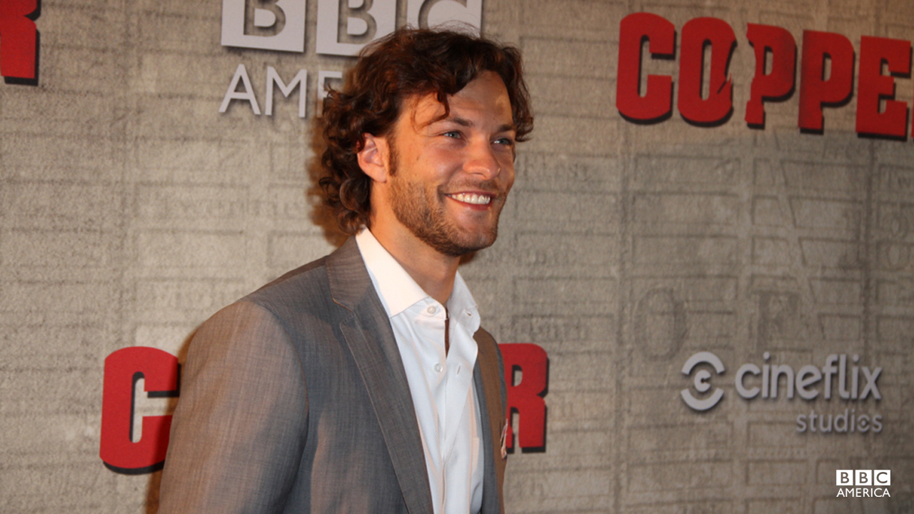 "Kyle Schmid tweets from the party, ""Maybe the best night of my life!"""