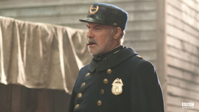Captain Ciaran Joseph Sullivan is less than impressed with Corcoran's heroics, caring more about his reputation with Manhattan's elite than seeking justice for victims.