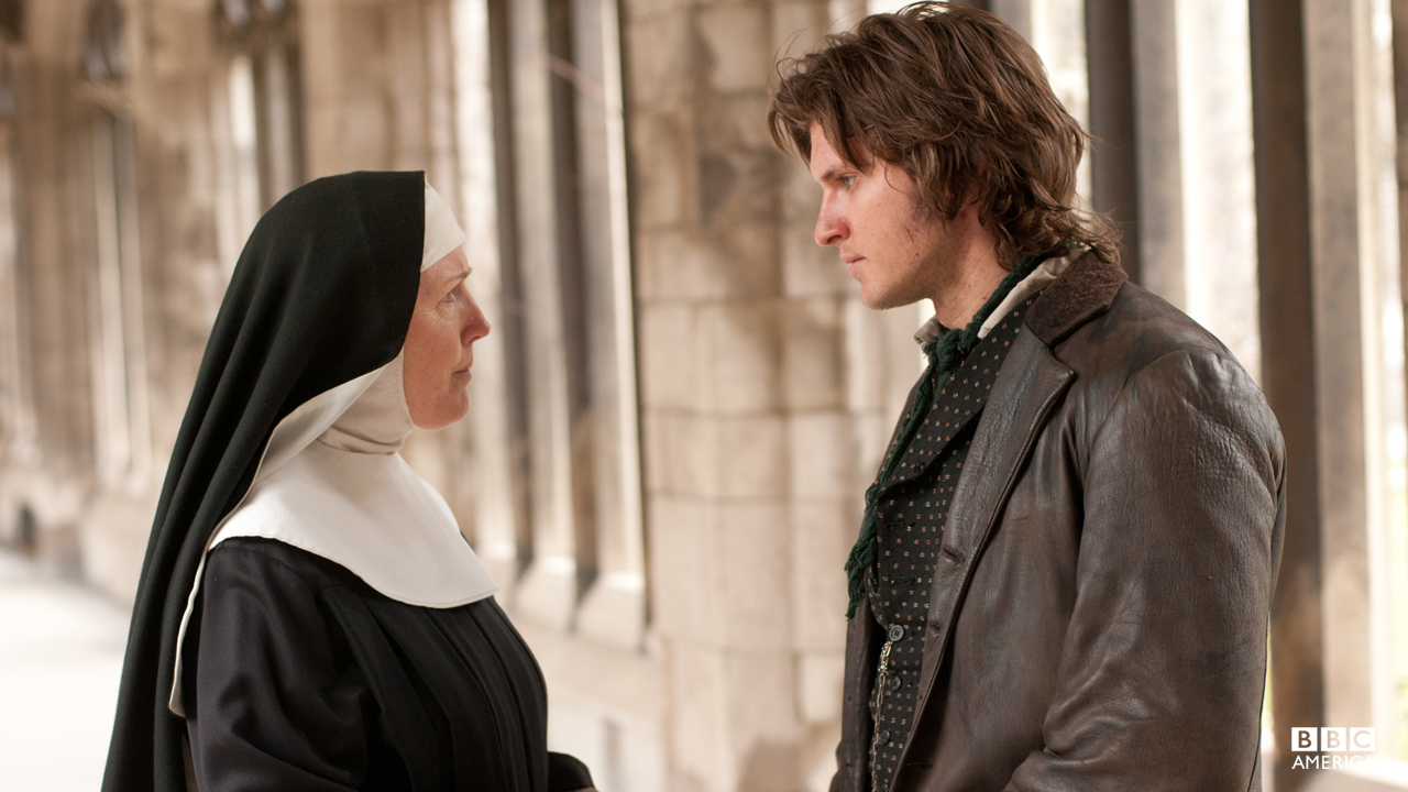 "When Kevin asks if he can hide Annie at the convent, an exasperated Sister Agnes Clare tells Corcoran, ""You were a troublesome child and you've become a troublesome adult."""