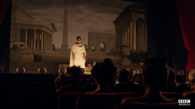 The Booths brothers perform Shakespeare's Julius Caesar.