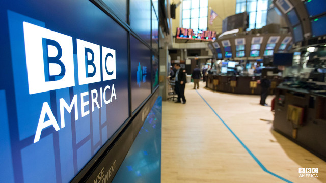 BBC America hits the NYSE floor.