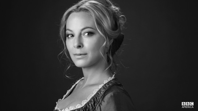 The widowed Elizabeth Haverford, played by Anastasia Griffith.