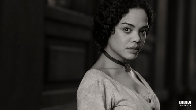 Sara Freeman, played by Tessa Thompson.
