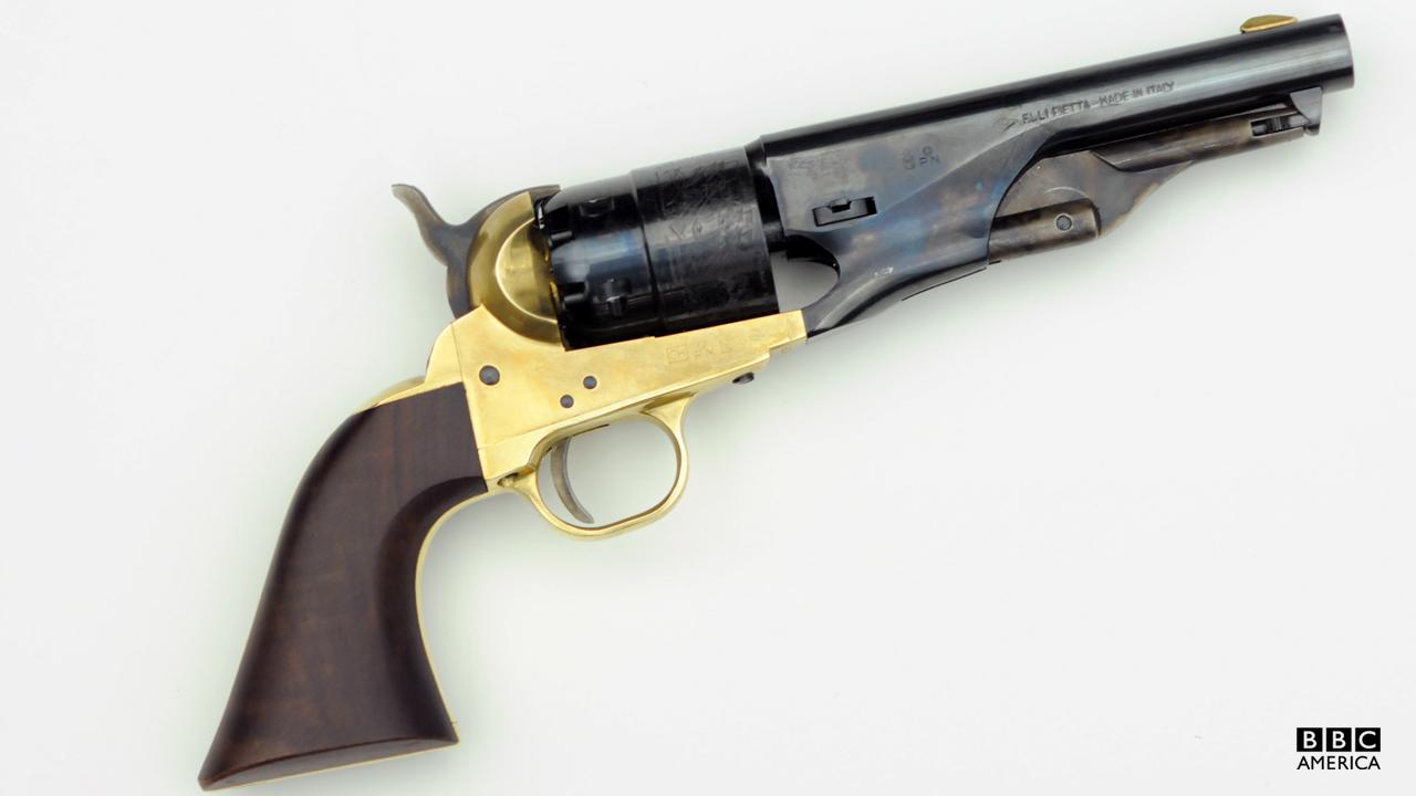 Corky's pistol.