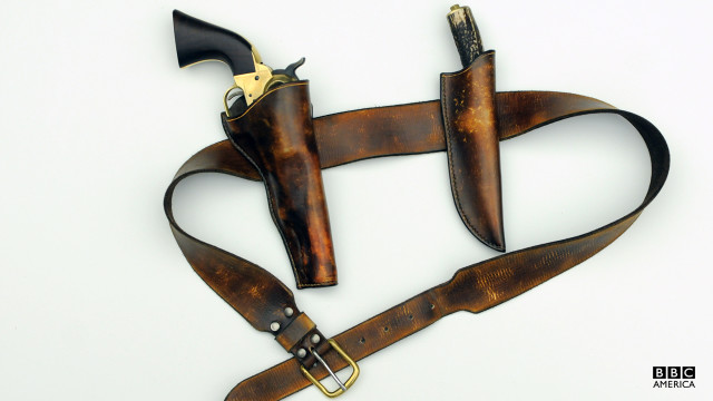 A copper's leather holster.