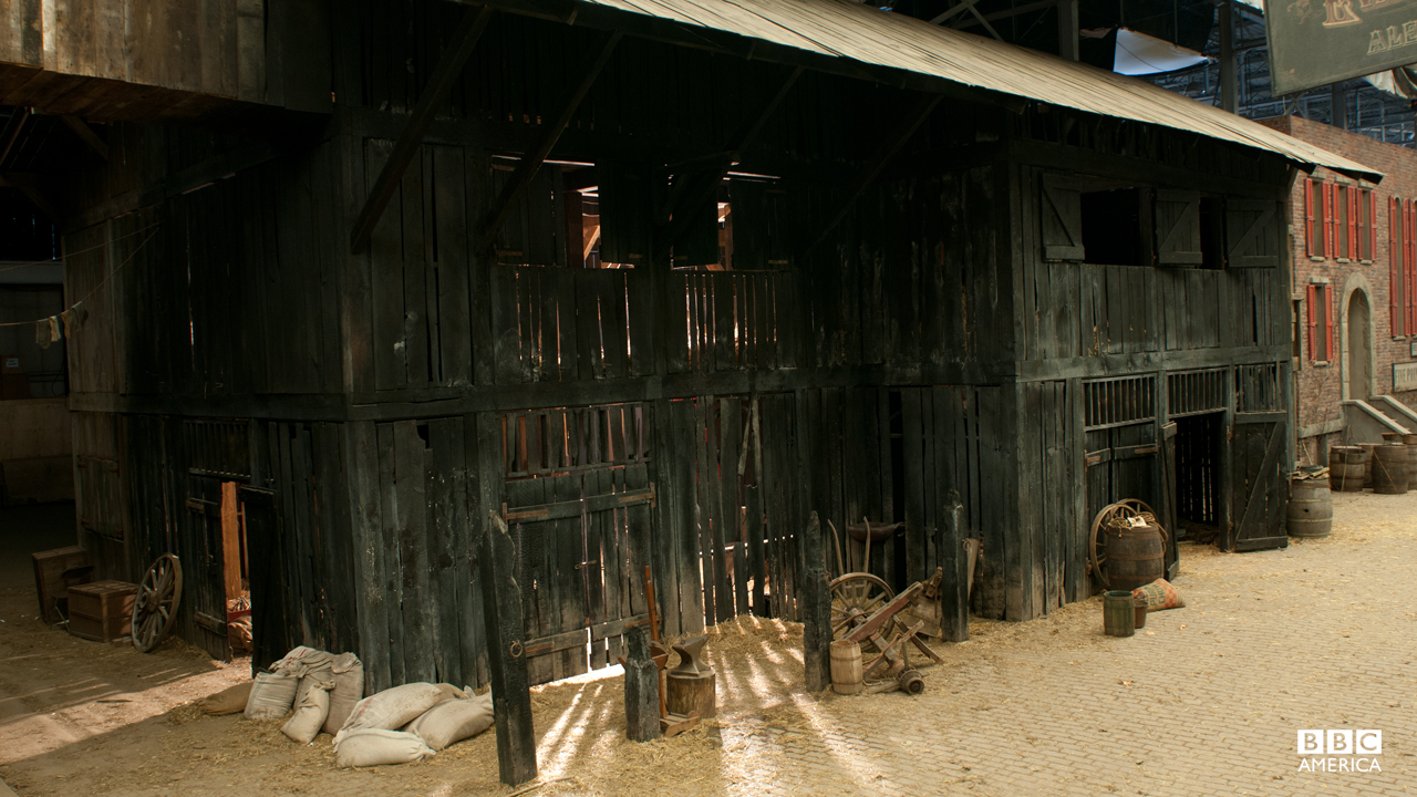 A closer look at the stables in Five Points, where some of the city's poorest grab some shuteye.