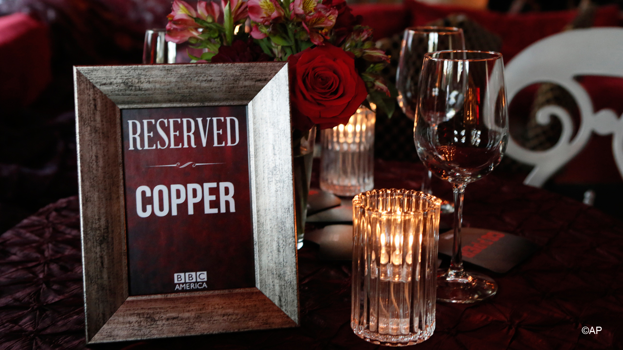 BBC America takes over Cafe La Boheme in Los Angeles, CA for a TCA party, celebrating first original scripted series, 'Copper,' as well as the 'The Hour,' 'The Nerdist,' 'Richard Hammond's Crash Course,' and the upcoming 'Spies of Warsaw.'