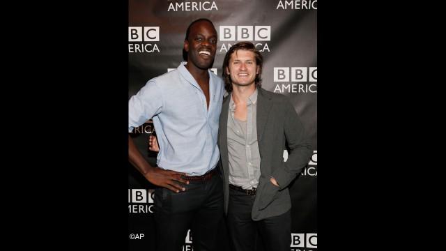 'Copper' stars Ato Essandoh and Tom Weston-Jones reunite.