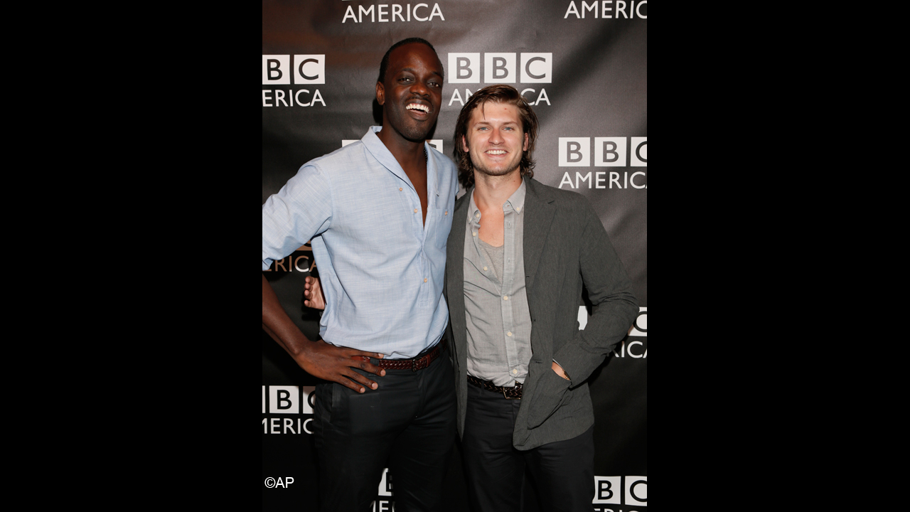 'Copper' stars Ato Essandoh and Tom Weston-Jones reunite.