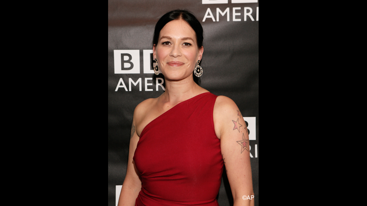 "Franka Potente, who plays brothel and saloon owner Madame Eva Heissen in 'Copper,' says of brothels, ""It's a place where people come undone... it's raw, it's real."""